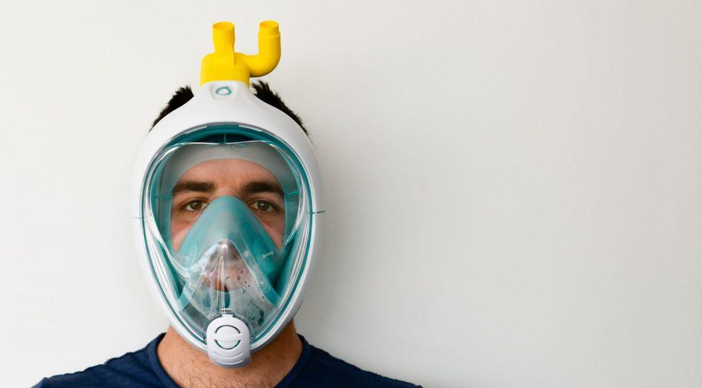 La máscara de buceo de Decathlon que está ayudando a salvar vidas - Emprendedores.es