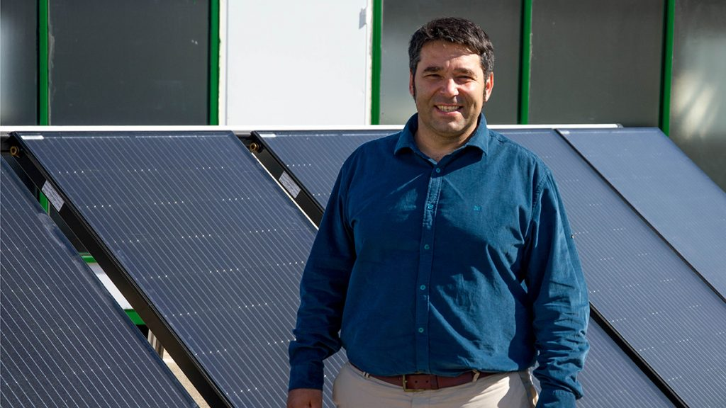 El emprendedor Alejandro del Amo, fundador de Abora Solar
