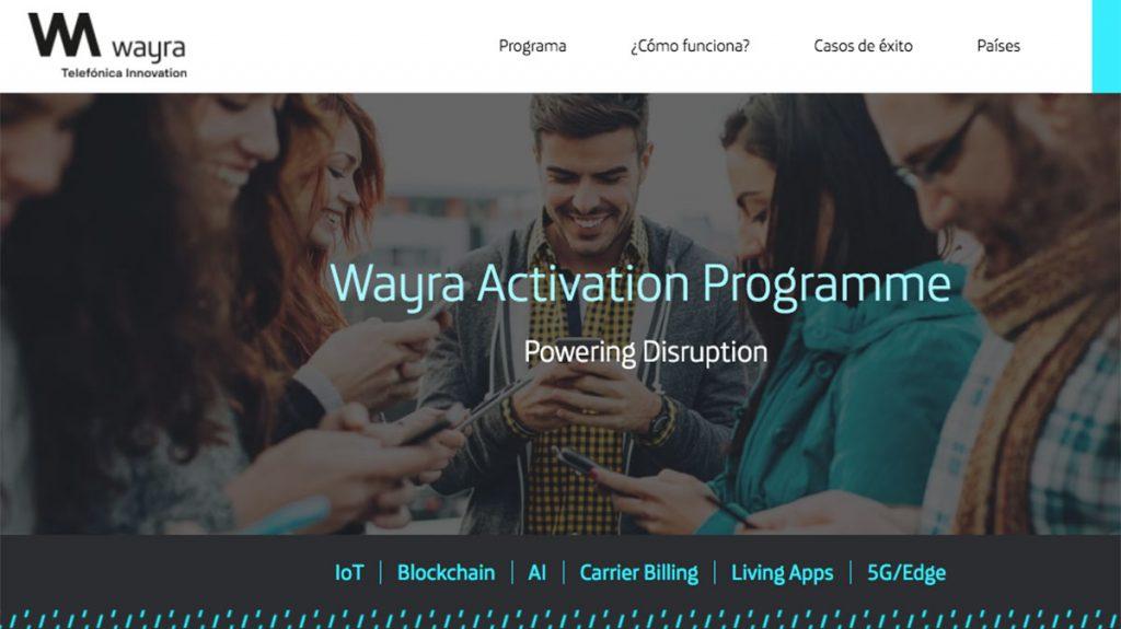 Wayra blockchain