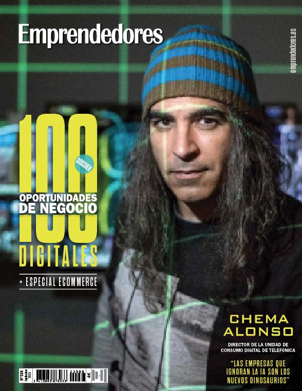 Ya a la venta el número de septiembre de la revista Emprendedores -  Emprendedores.es