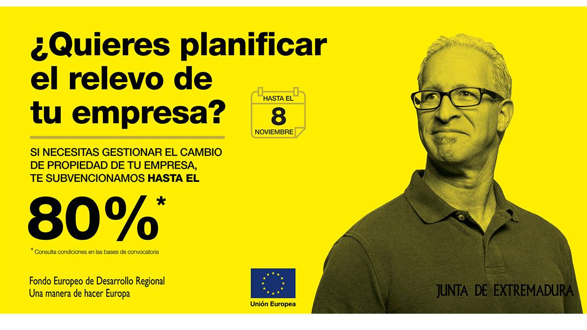 La Junta de Extremadura apoya la continuidad de las pymes de la región a través de las ayudas de relevo empresarial