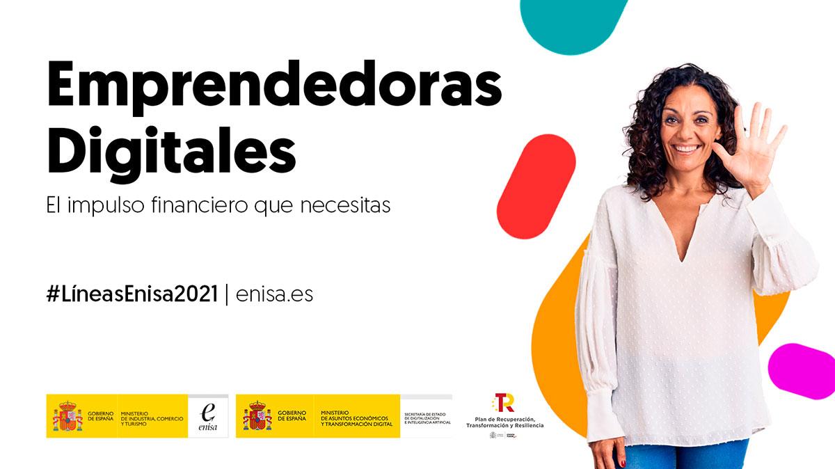 Línea Emprendedoras Digitales: hasta 51M € para impulsar el emprendimiento digital femenino