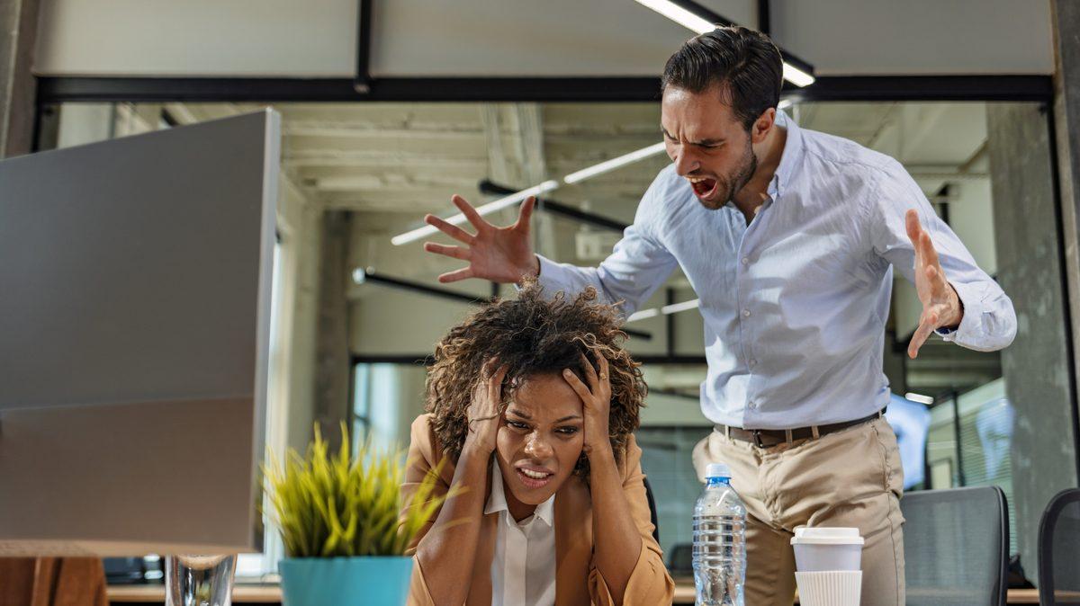 Una bronca del jefe puede provocar un accidente laboral